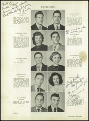 Page 10, 1951 Edition, Greenville High School - Tau Yearbook (Greenville, NC) online yearbook collection