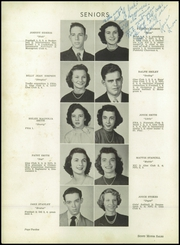 Page 16, 1951 Edition, Greenville High School - Tau Yearbook (Greenville, NC) online yearbook collection