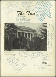 Page 5, 1951 Edition, Greenville High School - Tau Yearbook (Greenville, NC) online yearbook collection