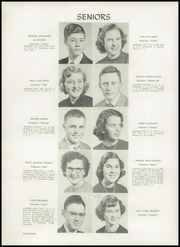 Page 12, 1952 Edition, Greenville High School - Tau Yearbook (Greenville, NC) online yearbook collection