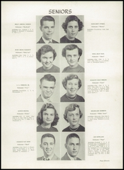 Page 15, 1952 Edition, Greenville High School - Tau Yearbook (Greenville, NC) online yearbook collection