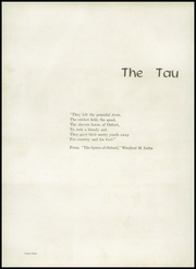 Page 6, 1952 Edition, Greenville High School - Tau Yearbook (Greenville, NC) online yearbook collection