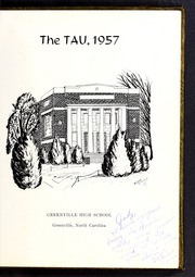 Page 5, 1957 Edition, Greenville High School - Tau Yearbook (Greenville, NC) online yearbook collection