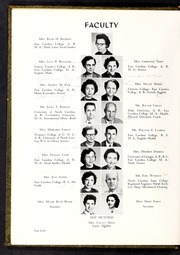 Page 8, 1957 Edition, Greenville High School - Tau Yearbook (Greenville, NC) online yearbook collection