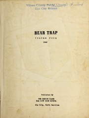 Page 3, 1949 Edition, Elm City High School - Bear Trap Yearbook (Elm City, NC) online yearbook collection