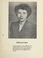 Page 9, 1949 Edition, Elm City High School - Bear Trap Yearbook (Elm City, NC) online yearbook collection