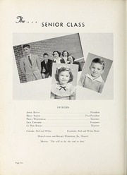 Page 10, 1950 Edition, Elm City High School - Bear Trap Yearbook (Elm City, NC) online yearbook collection