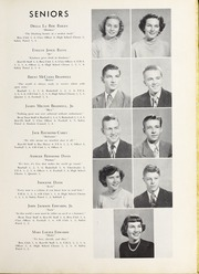 Page 11, 1950 Edition, Elm City High School - Bear Trap Yearbook (Elm City, NC) online yearbook collection