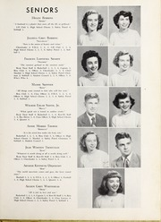 Page 13, 1950 Edition, Elm City High School - Bear Trap Yearbook (Elm City, NC) online yearbook collection