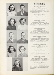 Page 14, 1950 Edition, Elm City High School - Bear Trap Yearbook (Elm City, NC) online yearbook collection