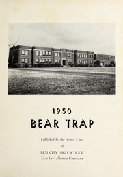 Page 5, 1950 Edition, Elm City High School - Bear Trap Yearbook (Elm City, NC) online yearbook collection