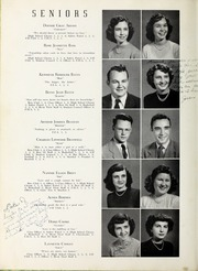 Page 10, 1951 Edition, Elm City High School - Bear Trap Yearbook (Elm City, NC) online yearbook collection