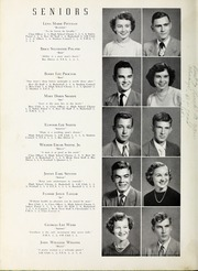 Page 12, 1951 Edition, Elm City High School - Bear Trap Yearbook (Elm City, NC) online yearbook collection