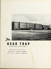Page 5, 1951 Edition, Elm City High School - Bear Trap Yearbook (Elm City, NC) online yearbook collection