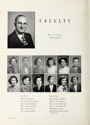 Page 8, 1951 Edition, Elm City High School - Bear Trap Yearbook (Elm City, NC) online yearbook collection