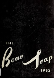 Page 1, 1952 Edition, Elm City High School - Bear Trap Yearbook (Elm City, NC) online yearbook collection