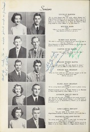 Page 14, 1952 Edition, Elm City High School - Bear Trap Yearbook (Elm City, NC) online yearbook collection