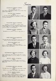 Page 15, 1952 Edition, Elm City High School - Bear Trap Yearbook (Elm City, NC) online yearbook collection