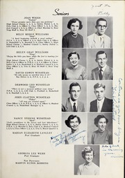 Page 17, 1952 Edition, Elm City High School - Bear Trap Yearbook (Elm City, NC) online yearbook collection