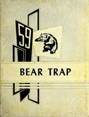 1959 Edition, Elm City High School - Bear Trap Yearbook (Elm City, NC)