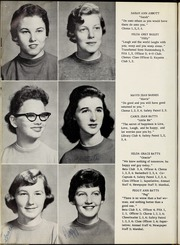 Page 14, 1959 Edition, Elm City High School - Bear Trap Yearbook (Elm City, NC) online yearbook collection
