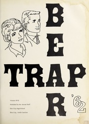 Page 5, 1962 Edition, Elm City High School - Bear Trap Yearbook (Elm City, NC) online yearbook collection