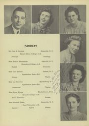 Page 10, 1948 Edition, Troutman High School - Hi Way Yearbook (Troutman, NC) online yearbook collection