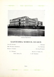 Page 11, 1933 Edition, Gastonia High School - Spinner Yearbook (Gastonia, NC) online yearbook collection
