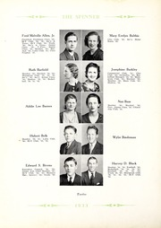 Page 16, 1933 Edition, Gastonia High School - Spinner Yearbook (Gastonia, NC) online yearbook collection