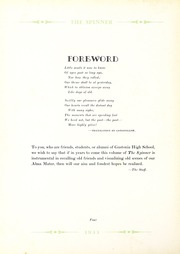 Page 8, 1933 Edition, Gastonia High School - Spinner Yearbook (Gastonia, NC) online yearbook collection