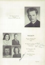 Page 11, 1949 Edition, North Wilkesboro High School - Roar Yearbook (North Wilkesboro, NC) online yearbook collection