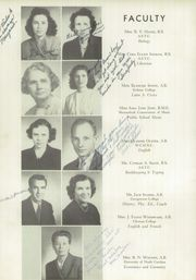Page 12, 1949 Edition, North Wilkesboro High School - Roar Yearbook (North Wilkesboro, NC) online yearbook collection