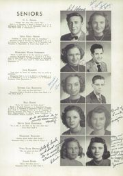 Page 15, 1949 Edition, North Wilkesboro High School - Roar Yearbook (North Wilkesboro, NC) online yearbook collection