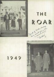 Page 6, 1949 Edition, North Wilkesboro High School - Roar Yearbook (North Wilkesboro, NC) online yearbook collection