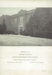Page 7, 1949 Edition, North Wilkesboro High School - Roar Yearbook (North Wilkesboro, NC) online yearbook collection