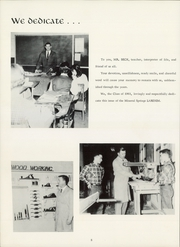 Page 12, 1961 Edition, Mineral Springs High School - Larenim Yearbook (Winston Salem, NC) online yearbook collection