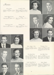 Page 17, 1951 Edition, Hanes High School - Blue Gold Yearbook (Winston Salem, NC) online yearbook collection