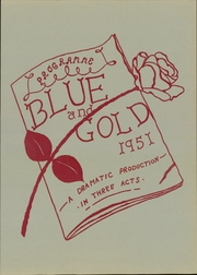 Page 5, 1951 Edition, Hanes High School - Blue Gold Yearbook (Winston Salem, NC) online yearbook collection