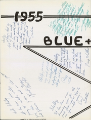 Page 8, 1955 Edition, Hanes High School - Blue Gold Yearbook (Winston Salem, NC) online yearbook collection
