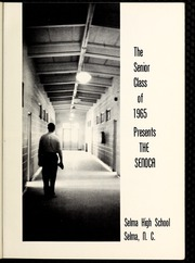 Page 5, 1965 Edition, Selma High School - Senoca Yearbook (Selma, NC) online yearbook collection