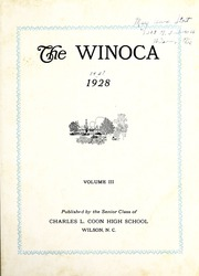 Page 7, 1928 Edition, Coon High School - Cocoon Yearbook (Wilson, NC) online yearbook collection