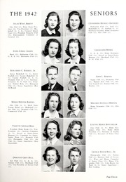 Page 15, 1942 Edition, Coon High School - Cocoon Yearbook (Wilson, NC) online yearbook collection