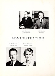 Page 10, 1944 Edition, Coon High School - Cocoon Yearbook (Wilson, NC) online yearbook collection