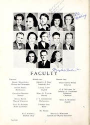 Page 12, 1944 Edition, Coon High School - Cocoon Yearbook (Wilson, NC) online yearbook collection