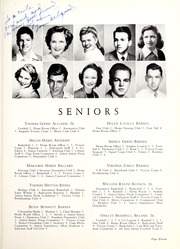 Page 15, 1944 Edition, Coon High School - Cocoon Yearbook (Wilson, NC) online yearbook collection