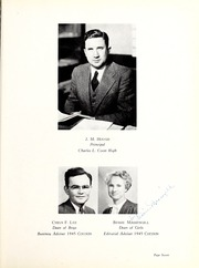 Page 11, 1945 Edition, Coon High School - Cocoon Yearbook (Wilson, NC) online yearbook collection