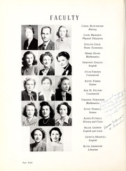 Page 12, 1945 Edition, Coon High School - Cocoon Yearbook (Wilson, NC) online yearbook collection