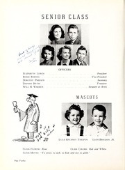 Page 16, 1945 Edition, Coon High School - Cocoon Yearbook (Wilson, NC) online yearbook collection
