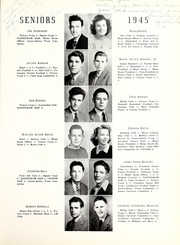 Page 17, 1945 Edition, Coon High School - Cocoon Yearbook (Wilson, NC) online yearbook collection