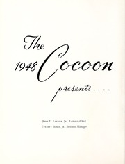 Page 6, 1948 Edition, Coon High School - Cocoon Yearbook (Wilson, NC) online yearbook collection